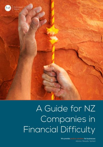 Guide for New Zealand Companies in Financial Difficulty