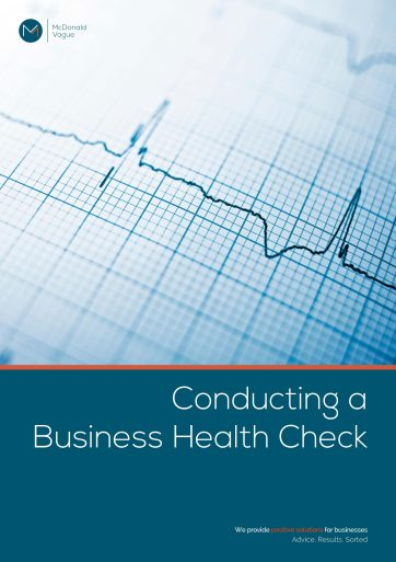 Conducting a Business Health Check